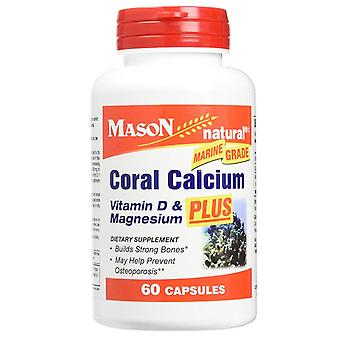 Mason natural coral calcium, 1500 mg, capsules, 60 ea