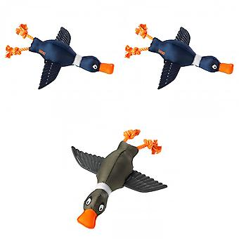 House Of Paws Duck Thrower With Wings Dog Toy