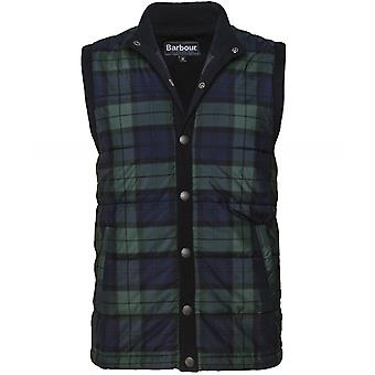 Barbour Knitted Check Haddon Gilet
