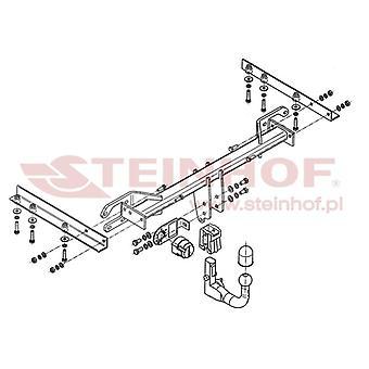 Steinhof Automatic Detachable Towbar (Vertical) for Subaru LEGACY V 2009-2013