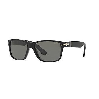 Persol PO3195S 1042/58 Matte Black/Polarised Green Sunglasses