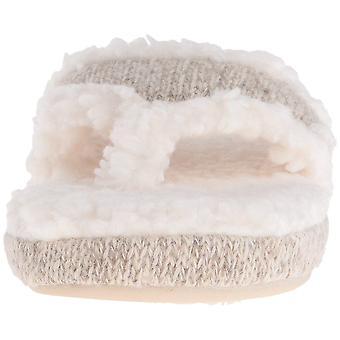 Acorn Women's Spa Thong with Premium Memory Foam Slip on Slipper