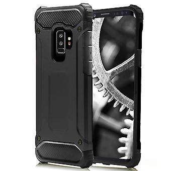 Shell für Samsung Galaxy S9 Plus black Armor Protection Case Hard