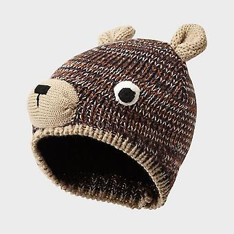 Ny Hi-Gear Kids' Burtie The Bear Hat Brown