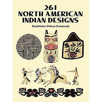 261 North American Indian Designs by Madeleine Orban-Szontagh - 97804