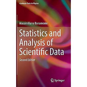 Statistics and Analysis of Scientific Data by Massimiliano Bonamente