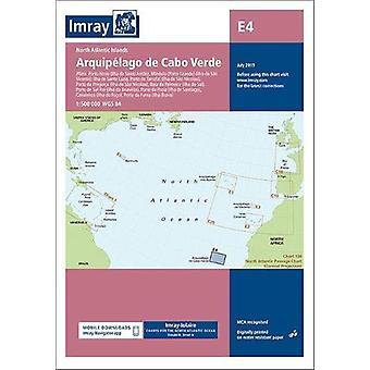 Imray Chart E4 - Arquipelago de Cabo Verde - 2019 by Imray - 9781786791