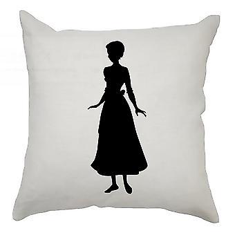 Silhouette Cushion Cover 40cm x 40cm Cinderella