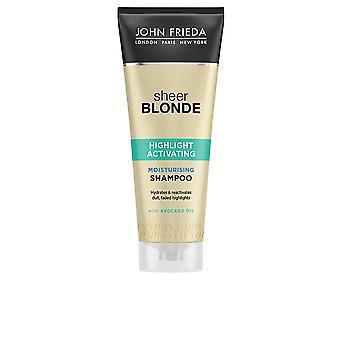 John Frieda Sheer Blonde Champú Hidratante blont hår 250 Ml Unisex