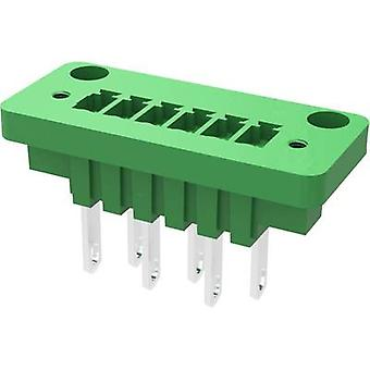 Enceinte de socket Degson - câble 15CDGV Nombre total de broches 4 Espacement des contacts : 3,81 mm 15CDGV-3.81-04P-14-00AH-1 1 pc(s)