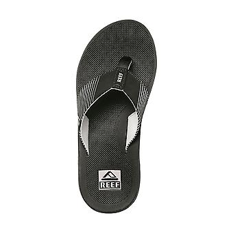 Reef Water Friendly Mens Sandálias ~ Fantasma II preto