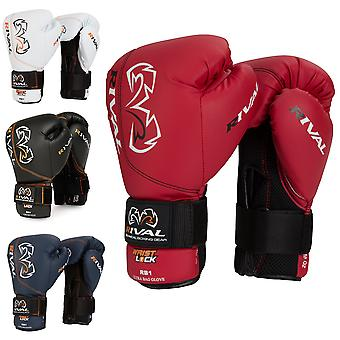 RIVAL Boxing RB1 Ultra Bag Gloves - 10 oz - Red