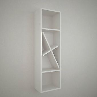Mensola Orust Color Bianco in Truciolare Melaminico 35x22x120 cm