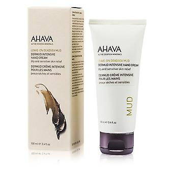 Ahava Leave-On Deadsea Mud Dermud Intensive Hand Cream 100ml/3.4oz