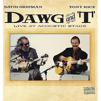 Grisman*David / Rice*Tony - Dawg & T [CD] USA Import