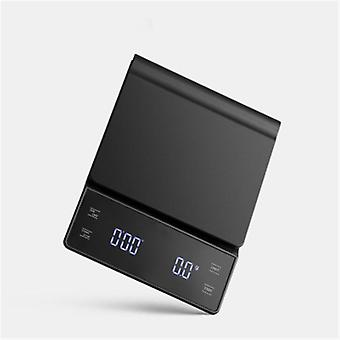 Kaffe skala med Timer Smart Drop - Precision Kaffe Pot Scale Household