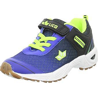 Lico Barney VS 360581BLAUSCHWARZLEMON universal all year unisex shoes