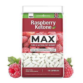 Raspberry Ketone 100mg - 120 Capsules - Waarde Raspberry Ketone - Evolution Slimming