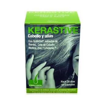Kerastive Vegetal (Hair and Nails) 60 capsules