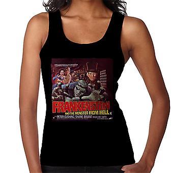 Hammer Horror films Frankenstein monster uit de hel rode vrouwen ' s vest