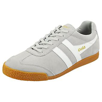 Gola Harrier Mens Casual Trainers in Light Grey White