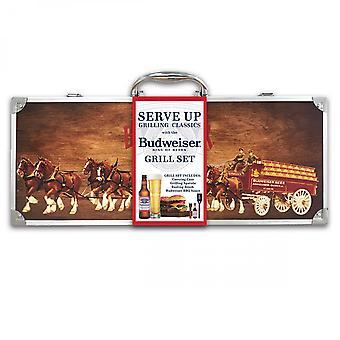 Budweiser BBQ Grill Set