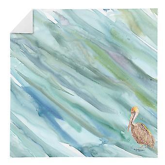 Carolines Treasures SC2050NAP Brown Pelican på Blå Servett