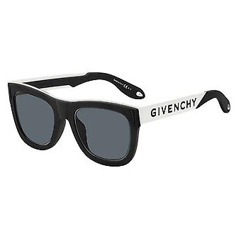 Givenchy GV7016/N/S 80S/IR Black White/Grey Sunglasses