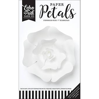 Echo Park Paper Płatki Mała Biała Róża