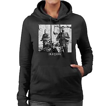 Mayans M.C. Motorcycle Club Ezekiel Reyes EZ Angel Reyes Women's Hooded Sweatshirt