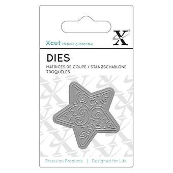 Xcut Dinky morrer (1pc) - estrela (XCU 503174)