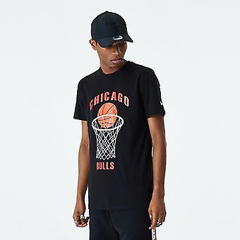 New Era NBA Basketball T-Shirt - Chicago Bulls