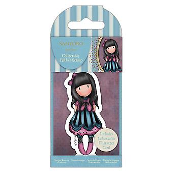 Gorjuss Collectable Mini Rubber Stamp No.75 The Frock