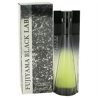 Fujiyama Black Label Eau De Toilette Spray By Succes De Paris
