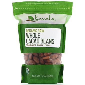 Kevala, Organic Raw Whole Cacao Beans, 16 oz (454 g)
