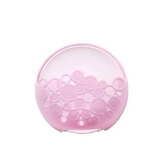 Kreatív szívó falra szerelt szappandoboz Pink Purple