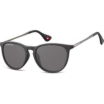 Sunglasses Unisex polarized matt black (MP24)