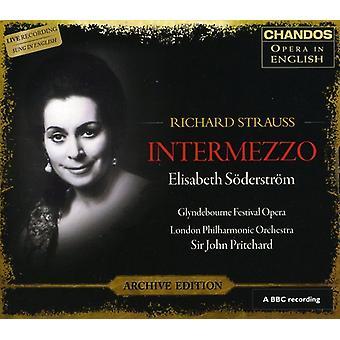 R. Strauss - Richard Strauss: Intermezzo [CD] USA import