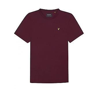 Lyle & Scott Basic Logo Tshirt Bourgondië