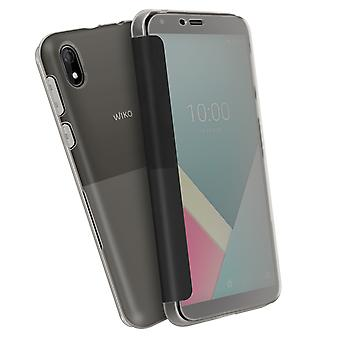 Back Cover for Wiko Y61 Original Easy touch smart cover - Gray