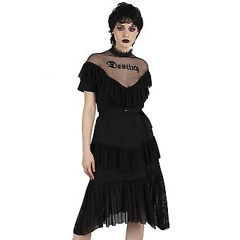 Jawbreaker Clothing Meet Your Destiny Decadent Frill Dress