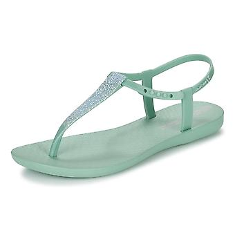 Womens Ipanema Flip Flops Pop Glitter Beach Sandals - menthe