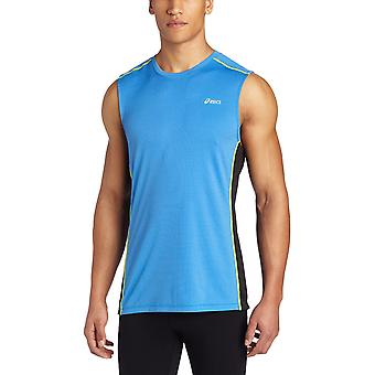 Asics Men Fujitrail Sleeveless T-Shirt Electric SM