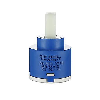 25/35/40mm Cartridge Valve Core -elektrische verwarming Water Mengklep Torquestyle