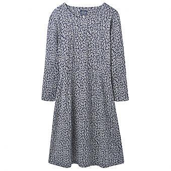 Joules Joules Juliana pasvorm en Flare Womens jurk met belangstelling mouw (Z)
