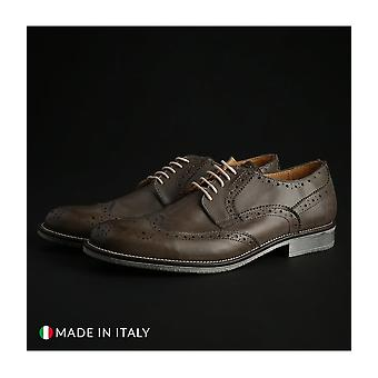 Guido Bassi - shoes - lace-up shoes - 2_CRUST_GRIGIO - men - gray - EU 43