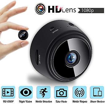 A9 Minikamera/v380 Pro App Hd 1080p 150-graders angle trådløst wifi, ip-netværk