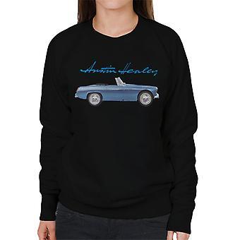 Austin Healey Blue British Motor Heritage Women's Sweatshirt