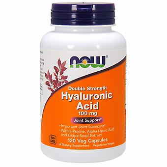 Now Foods Hyaluronic Acid, 120 vcaps