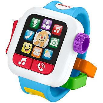 Fisher price laugh & learn time to learn smartwatch, musical baby toy, ​toggle